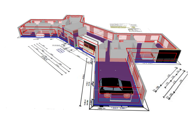 3D Lighting Plans